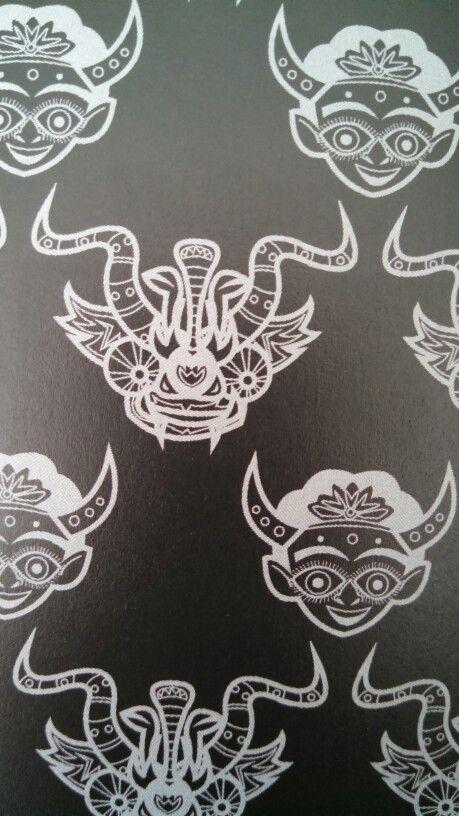 Bolivian diablo devil mask