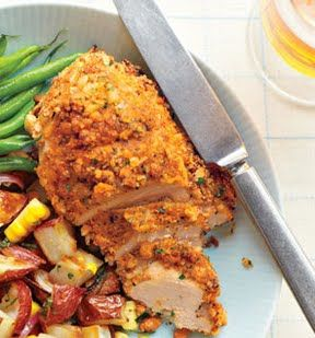 Buttermilk Oven-Fried Chicken  Healthier version of fried chicken