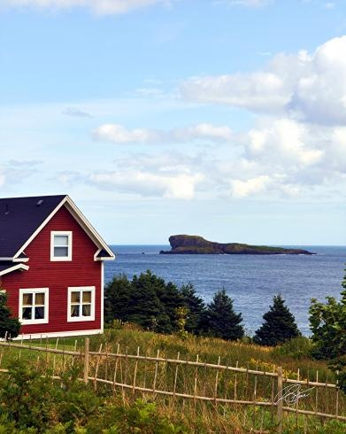 A Place By The Sea - Town Of Ferryland, Newfoundland Photography by Stone Island Photography