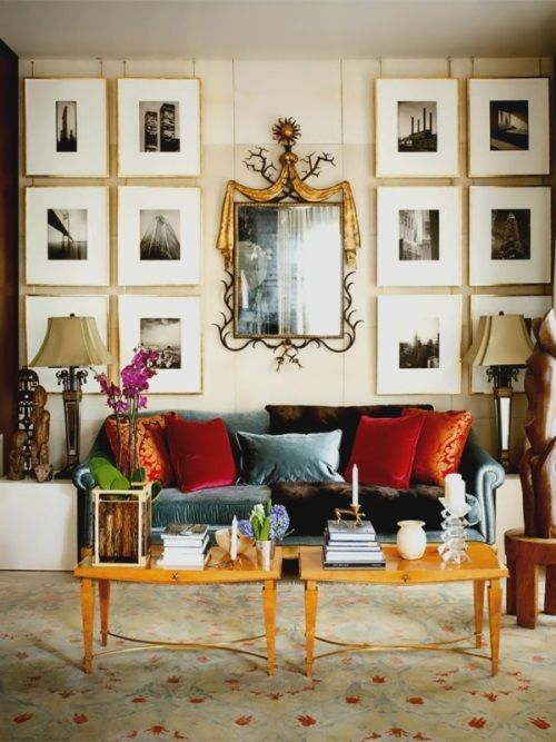 [Blog with Design Tips]. Oushak Rugs Enrich 4 Stunning Interiors. Interior design by Design Crisis