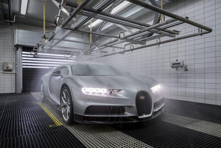New Bugatti Chiron Production at Molsheim Factory - http://trackworthy.com/new-bugatti-chiron-production-molsheim-factory/
