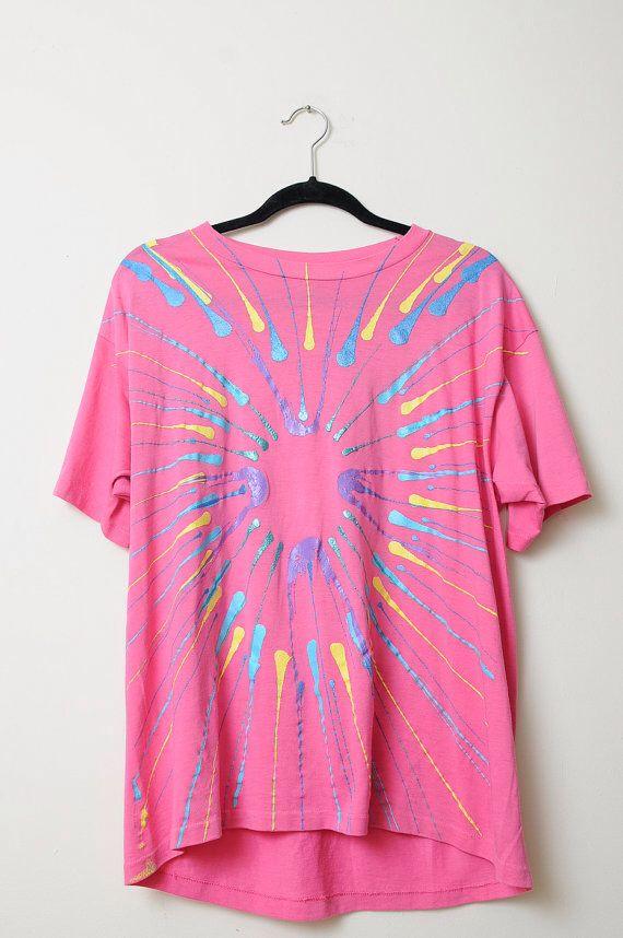 Puff paint shirt