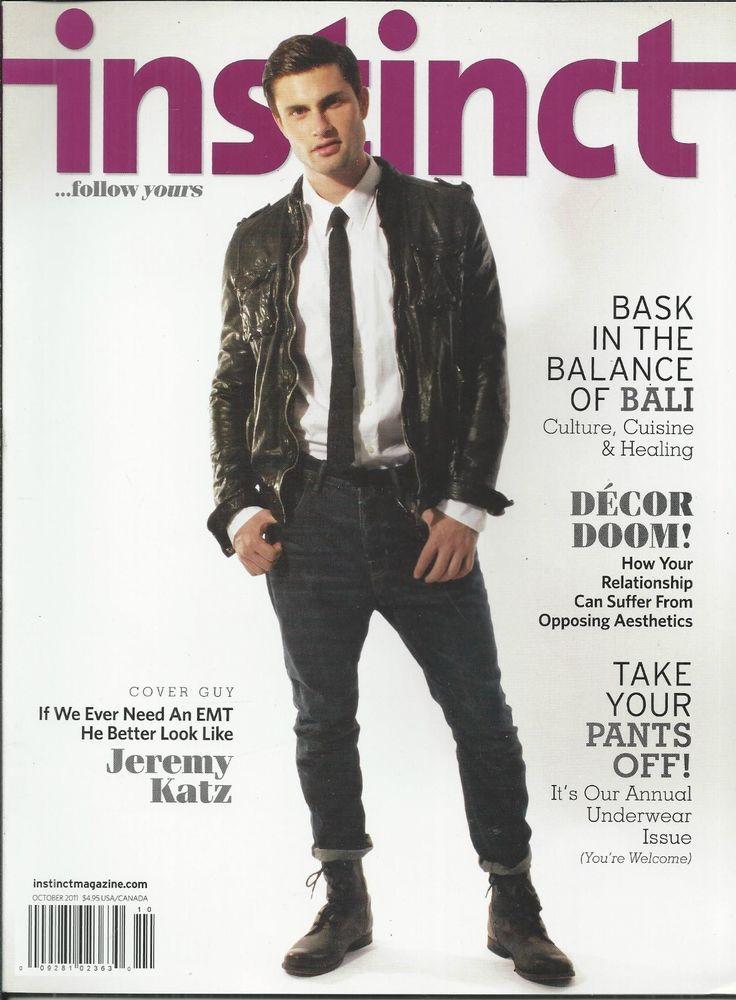 from Nicholas instinct gay magazine