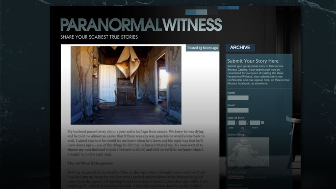 Are You a Paranormal Witness?