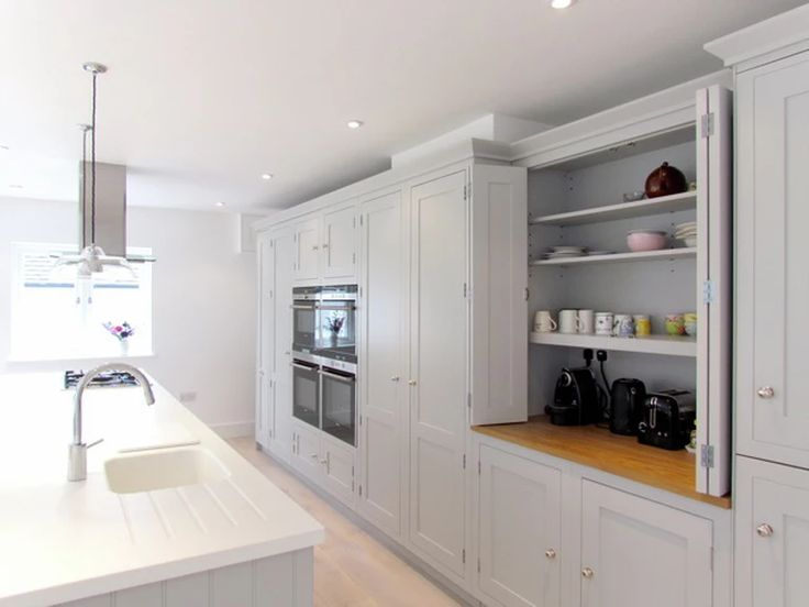 Independent Kitchen Design Consultancy.  | PROJECTS  that cupboard !!! the toaster, kettle etc all hidden away is SO NEAT . LOVE LOVE LOVE