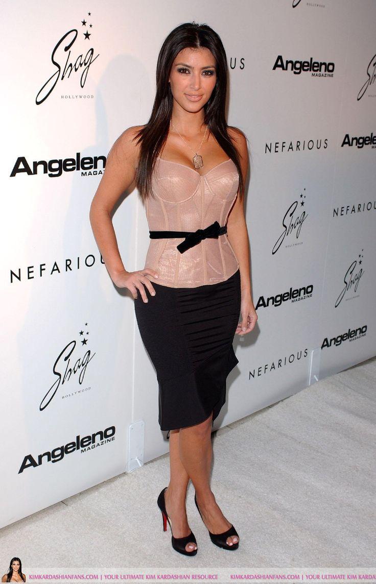 Kim Kardashian at Nefarious Fine Jewelry Spring 2007 Collection (Dec 12, 2006) #Kardashian