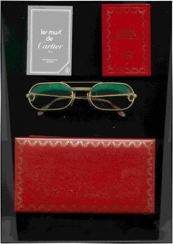 Must de Cartier Brille Lesebrille 18 Karat Gold mit Box + Papieren (996)Willkommen im  www.Chelsea-Fashion-Glamur.de  Shop Secondhand und Neuware Mode zu günstigen Preisen   Dies und Das für jeden was.....