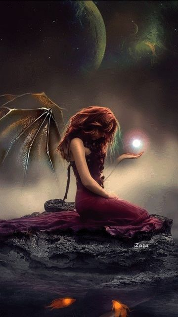 Decent Image Scraps: Angel Animation