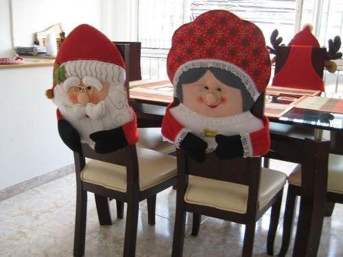 Cubre Sillas Navideños   Navidad otro   Pinterest