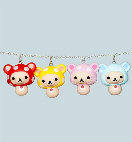 Cute Korilakkuma Necklace from Pikku Shop | www.pikku-shop.com