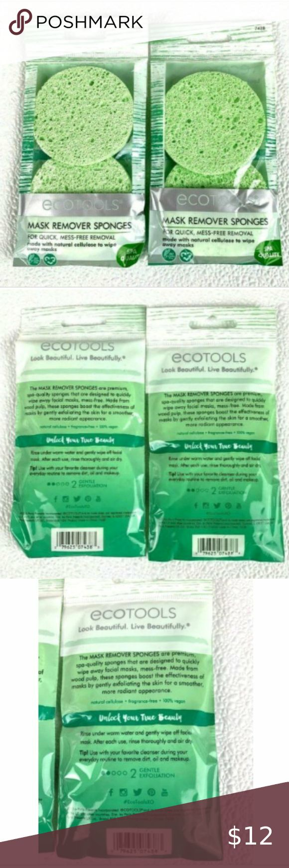 4/25 Eco Tools Mask Remover Exfoliating Sponges in 2020