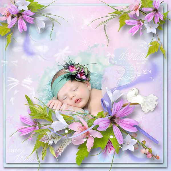 """""""Dream About Fairies"""" by MiSi Scrap, http://www.digiscrapbooking.ch/shop/index.php?main_page=index&manufacturers_id=158"""