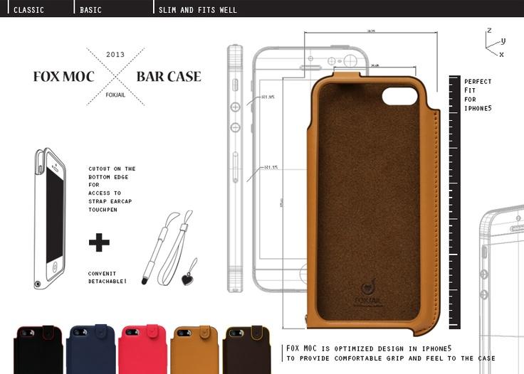 iphone5 diary case  from FOXJAIL KOREA