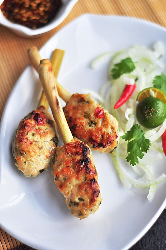 Served with love: Lemongrass Chicken Skewers