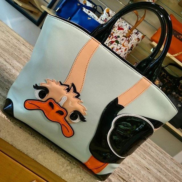 Braccialini, linea Handle, bauletto Struzzo. €215,00. ▶ Per Info e Acquisti: WhatsApp 3381942305, Facebook Pvt,  carpelpelletterie@gmail.com ◀ #Braccialini #handle #braccialinibags #ss2016collection #springsummer #handbag #italianbrand #animals #funny #borse #fashion #instafashion #instastyle #nofilter #picoftheday.