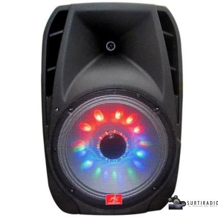 Cabina Amplificada recargable ASPA-154UBL, American Sound tan solo $530.000.