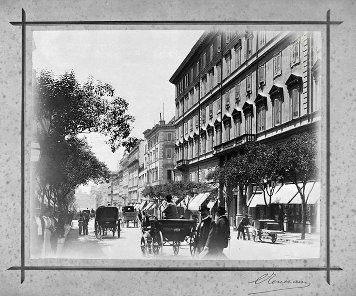 Via Nazionale (1890 ca)
