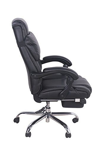 big tall deluxe executive chair black