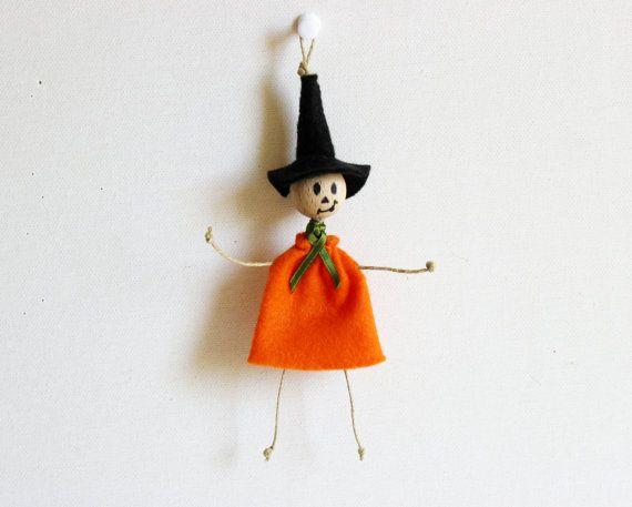 Halloween WitchHalloween Witch DecorationWitch by LorenzaPari, €5.00
