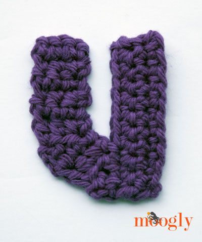 Crochet Stitches On Moogly : Moogly Lowercase Alphabet - free #crochet patterns! Crochet ...