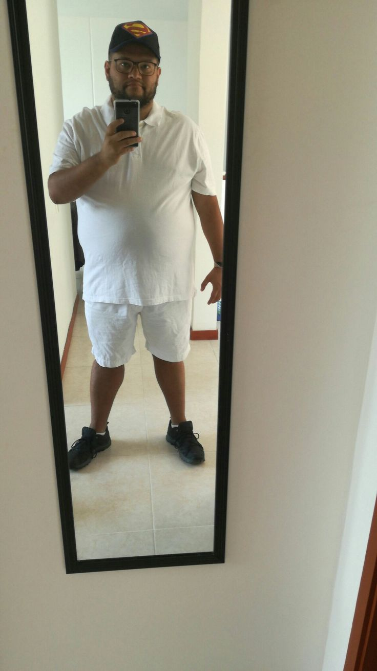 #white #fatty #outfit #chubby