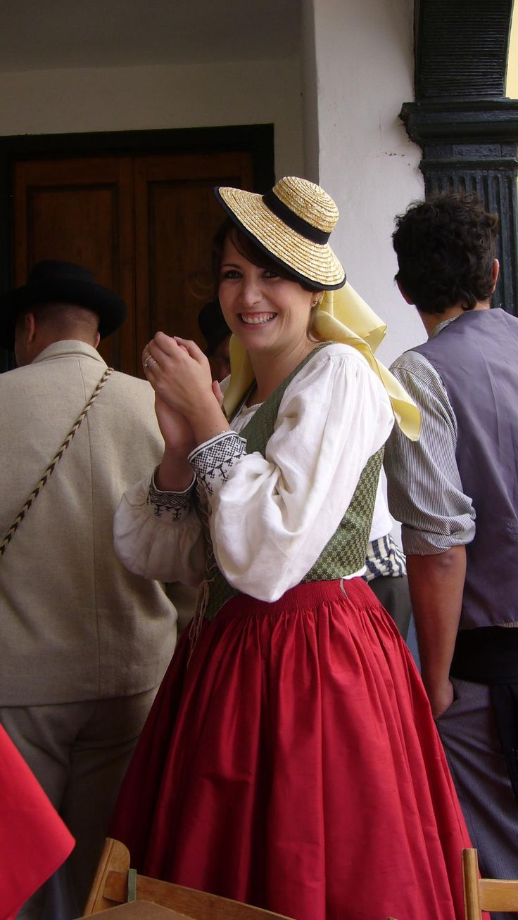 Traditional Costume    La Palma, Spain