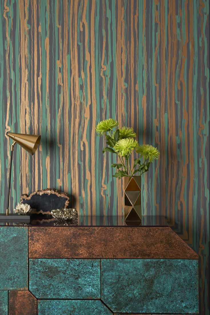 Stunning new Cole and Sons Curio wallpaper collection called Curio is now live!