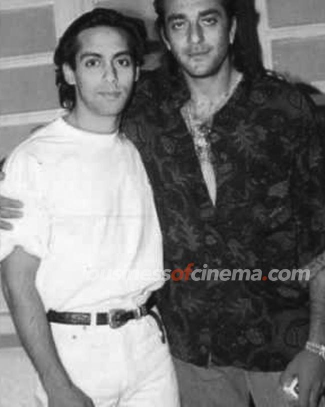 Photos | Businessofcinema.com | Young Salman Khan with Bollywood Friends | Young Salman Khan with Bollywood Friends