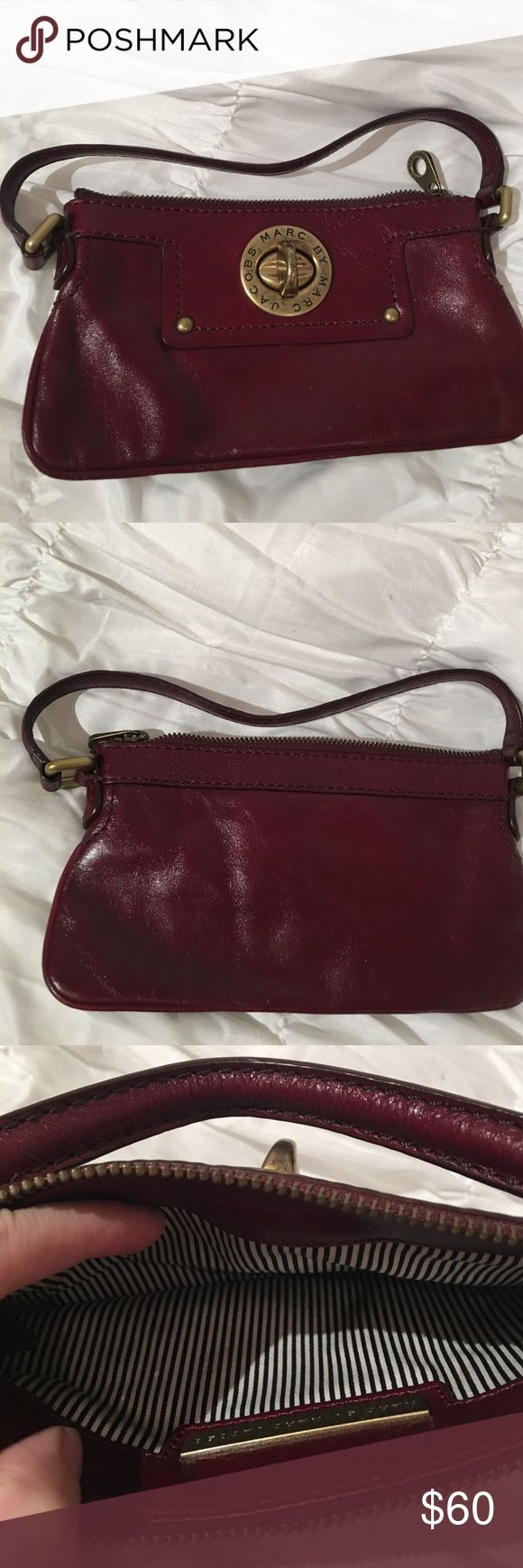 Marc by Marc Jacobs Handbag Maroon colored, Marc by Marc Jacobs handbag. Never worn. Marc by Marc Jacobs Bags Mini Bags