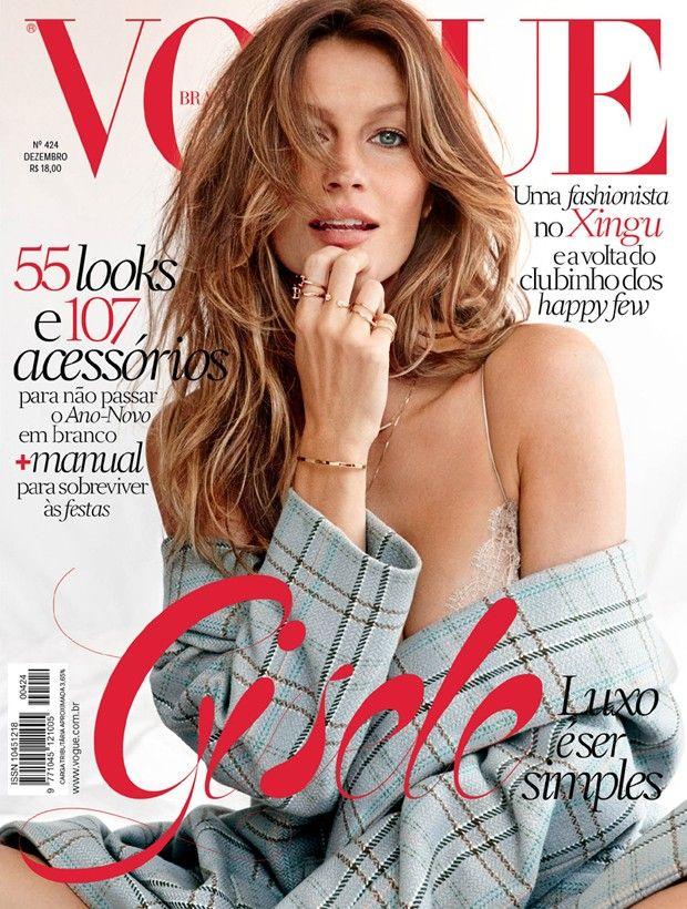 Vogue Brazil December 2013 : Gisele Bündchen by Giampaolo Sgura