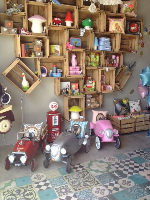 Wonderland children's concept store in Casablanca (Morocco)