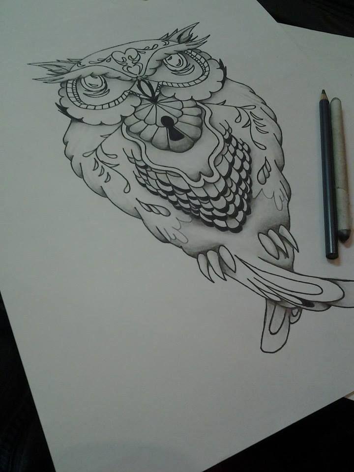 Owl tattoo design tattoo designs pinterest owl for Pinterest tattoo ideas