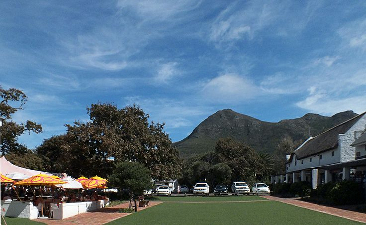 The Noordhoek Farm Village - Village Green!  De Noordhoek Hotel   Noordhoek Farm Village   Noordhoek   Cape Town  http://www.capepointroute.co.za/moreinfoAccommodation.php?aID=163