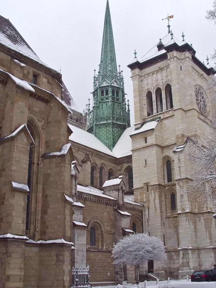 Cathédrale Saint-Pierre de Genève, Suisse