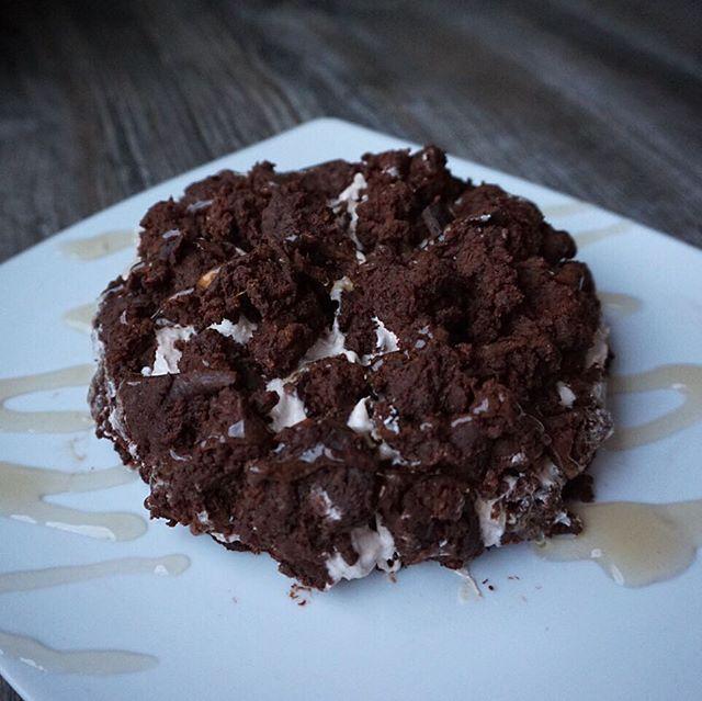 WEBSTA @ schmale_schulter - Nennen wir es Maulwurfkuchen aka Süßkartoffelbrownies