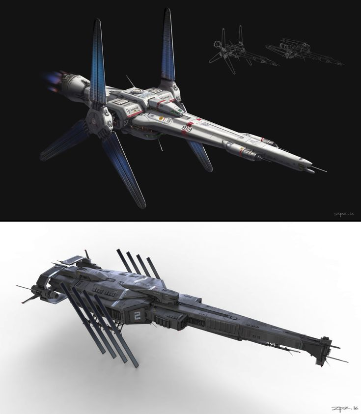 ArtStation - A series of spaceship designs, Z PZ