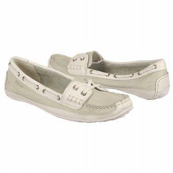 Sebago Women's Bala Boat Shoe, Pearl/White, 8.5 M US Sebago. $31.99