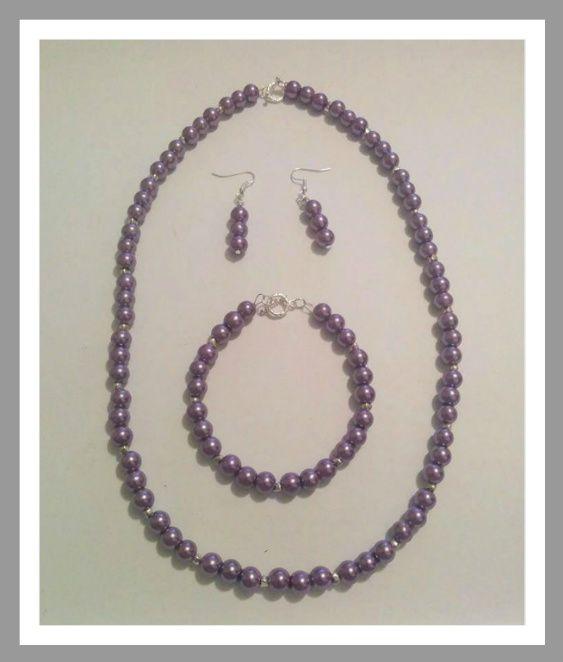 Purple pearl set
