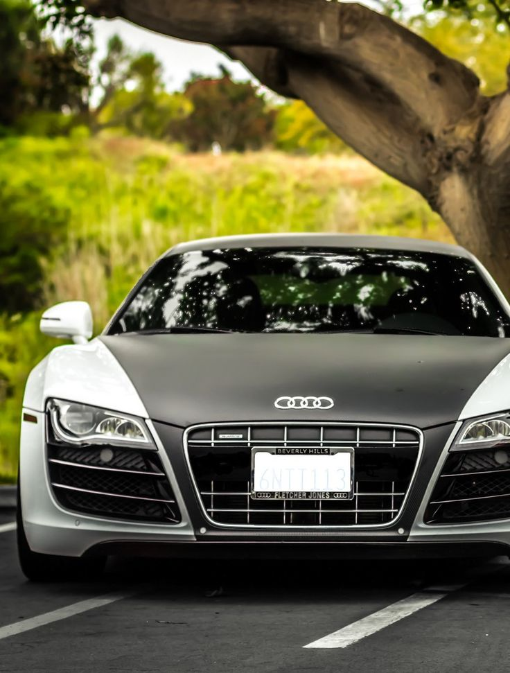 Audi R8. When I have money I will be rollin in one of these babies! Like Daayyyuuuummmm!!