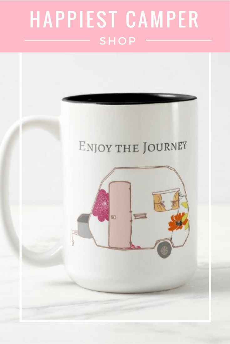 This shop has the most adorable camper stuff!  It's perfect for the RV lover or camping enthusiast.  Gifts for happy campers of all ages.