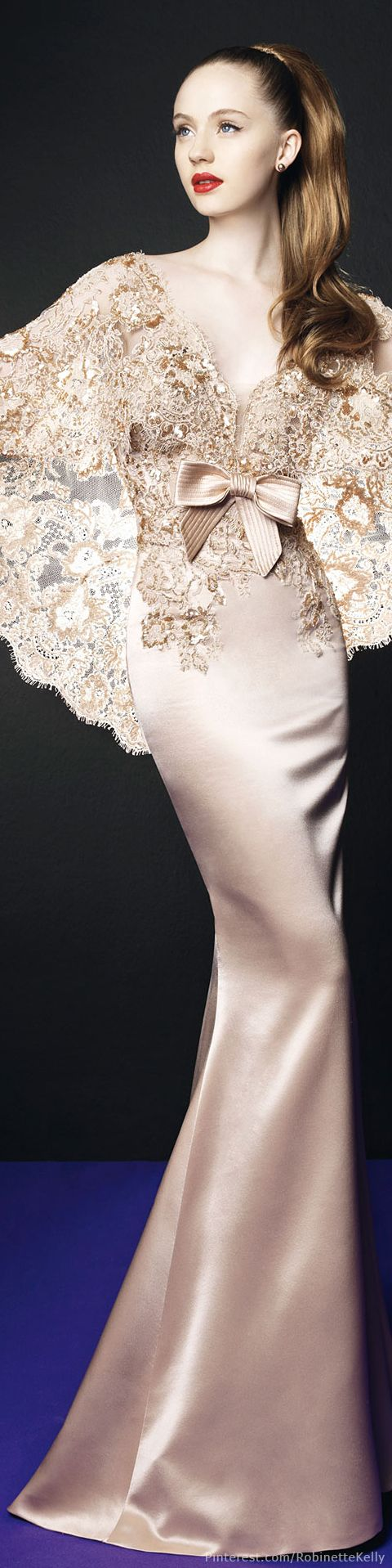 Zuhair Murad for Rosa Clará 2014: Zuhair Murad combines luxury and lushness with something everyday and fresh!