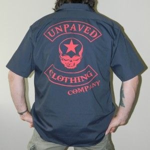 exclusive w/ UnPaved Clothing Co - this Dickies Mechanic Shirt is part of the SNITSKY SWAG line