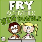 Fry Sight Word Activities BUNDLE! over 1,000 pages of sight word activities and resources!