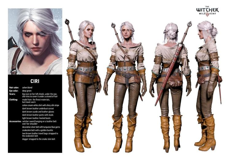 Ciri - The Witcher Wiki