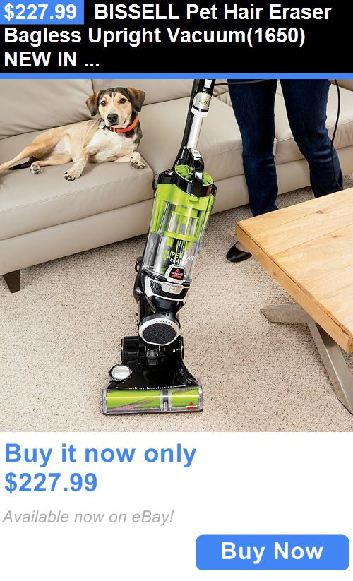 household items: Bissell Pet Hair Eraser Bagless Upright Vacuum(1650) New In Box BUY IT NOW ONLY: $227.99