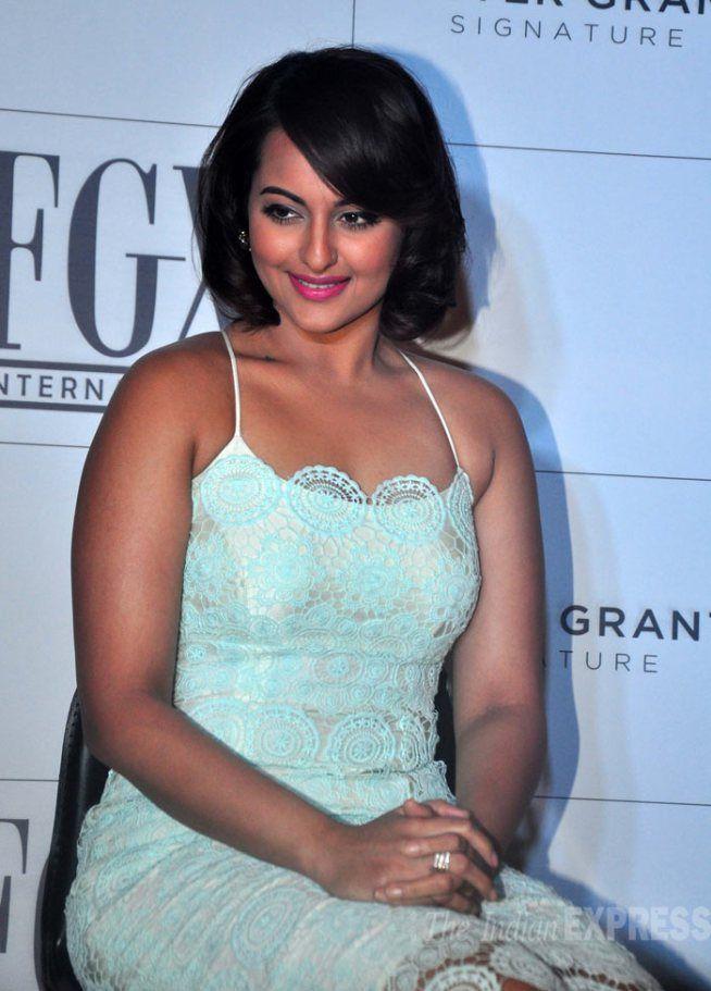 Sonakshi Sinha at the launch of FGX International eyewear.