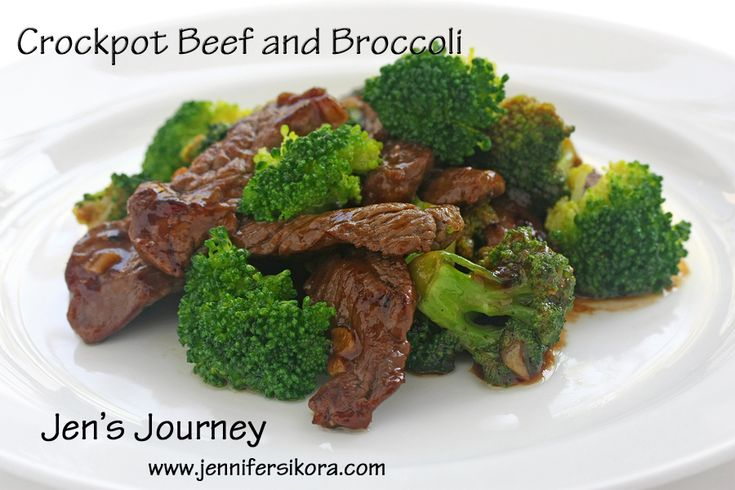 Crockpot Beef and Broccoli will have you eating at home more and getting take out less!