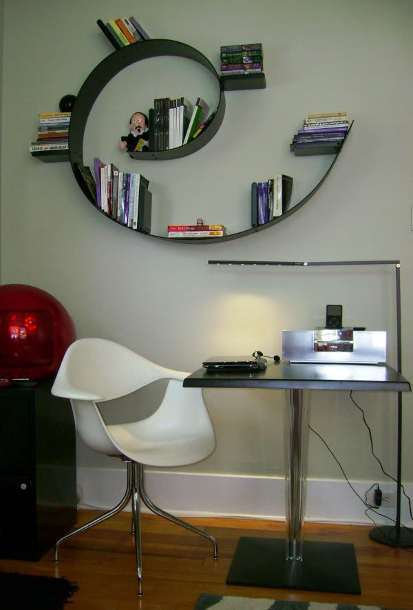 Kartell Bookworm Modular Bookshelf by Ron Arad 15 Bookends (Star Designer / Brand)