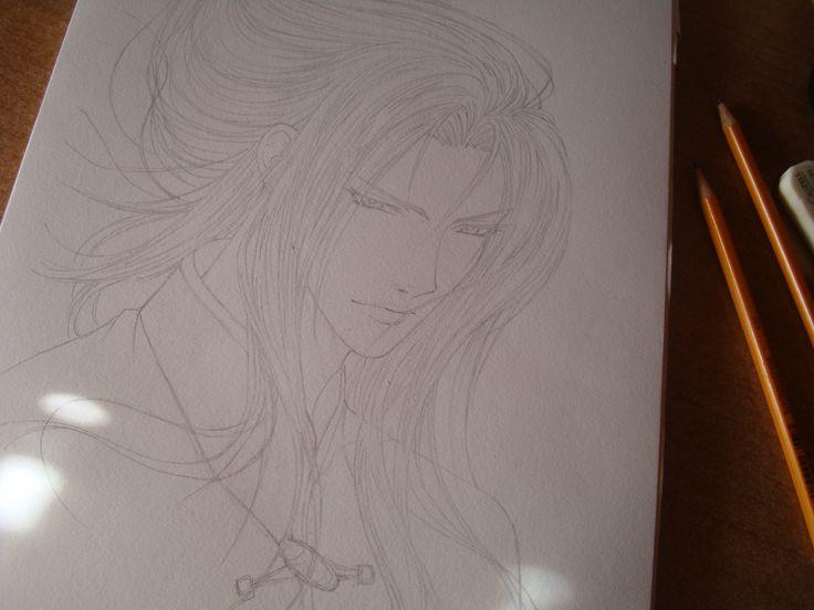 Fei long sketch