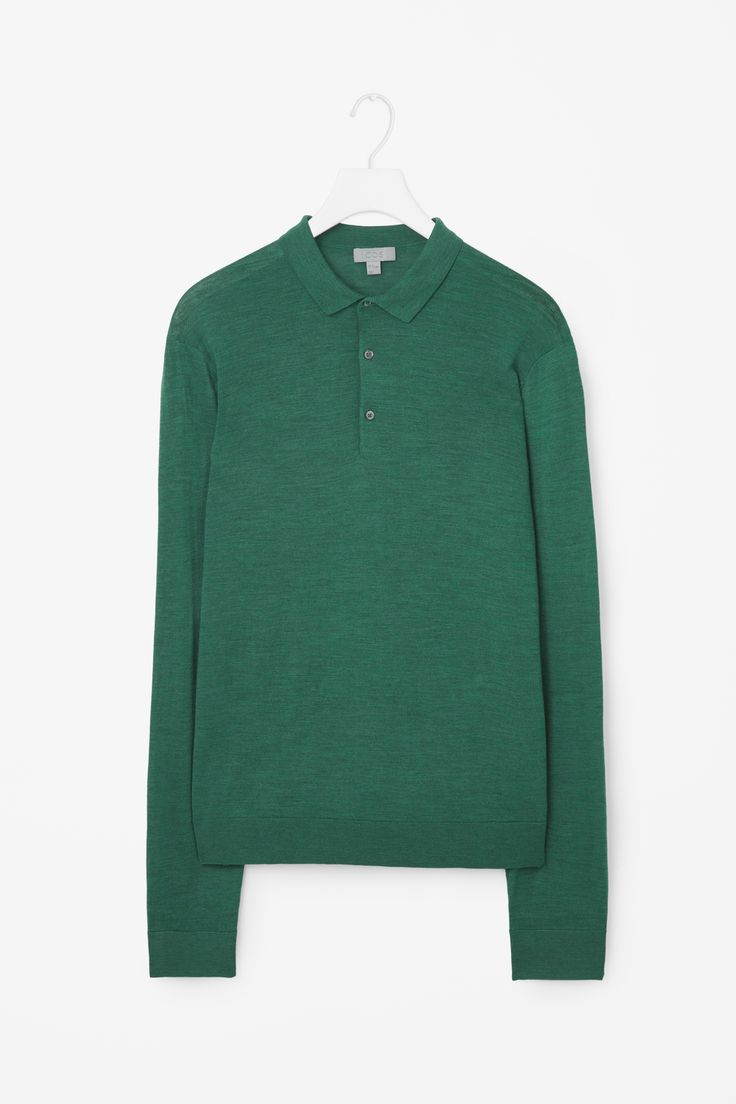 COS | Polo-neck merino jumper